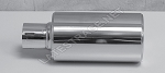 Exhaust Hot Shot Polished Stainless 2x10