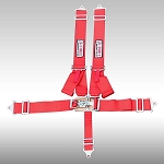 G-FORCE 6240 Pro Series Latch & Link NASCAR-Style 5-Point Pull-Up Harness
