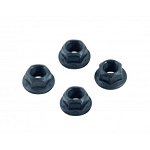 Ford 3/8-24 Torque Converter Nuts 4-pc