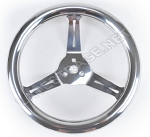 12-Inch Stainless Steel Dished Steering Wheel
