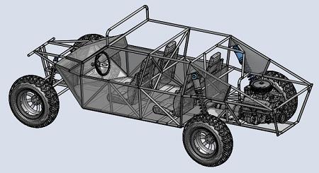 Long Travel Sand Rail Plans 4 Seater Rear Engine