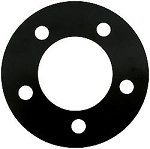 5x5 Wheel Spacers 1/4 Thick