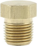 1/8 NPT Brass Plugs Brake Adapter Fittings 4-pc