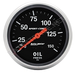 Oil Pressure  Gauge 0-150 psi