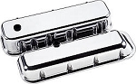 Chevy BB Plain Polished Aluminum Valve Covers