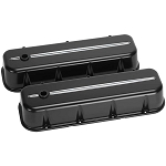 BBC Tall Black Valve Covers