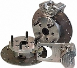 4-Lug Long Axle 2-Piston Rear Disc Brake Conversion Kit