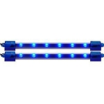 Twin Pack LED Bars 6 Inch Blue
