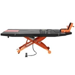 XLT Motorcycle Lift with 1000-lb Capacity Black and Orange