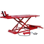 XLT Motorcycle Lift with 1500-lb Capacity Red