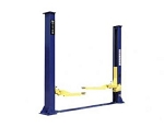 2-Post Symmetric Lift with Floorplate 9000-lb Capacity