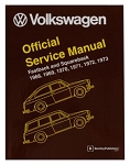 Volkswagen Official Service Manual Fastback and Squareback
