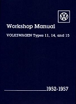 1952-1957 Beetle and Ghia Workshop Manual