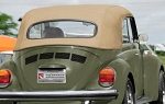 1950-79 Beetle Cabriolet Top Cover Canvas