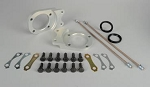 1971-79 Super Beetle Front Disc Brake Conversion Kit with Hoses