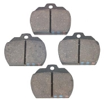 1967-72 Ghia Front Brake Pads Front Axle Set LH and RH