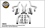 1967-70 Ford Mustang Dual Exhaust Kit