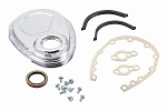 1955-87 SBC Chrome Timing Cover Kit