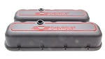 BBC Tall Die-Cast Aluminum Valve Covers with Baffle
