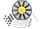 12-Inch Universal Electric Fan with GM Bowtie Logo
