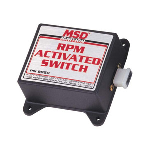 RPM Activated Switches