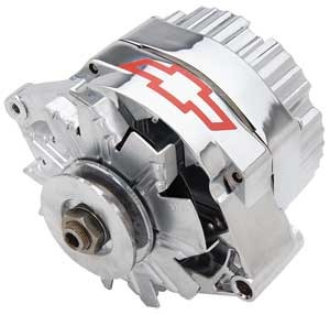 Officially Licensed GM Alternators with Bowtie Logo