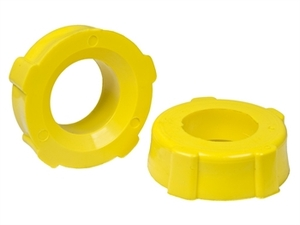 SACO Knobby Grommets 1-7/8 Inch  ID Yellow