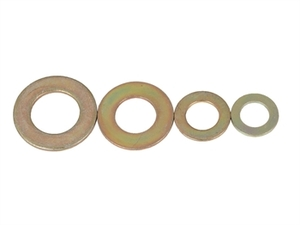Off-Road AN Flat Washers 3/8 Inch