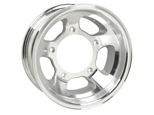 Spun Aluminum BTR VW Buggy Racing Wheels 15x7