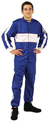 G-FORCE 4381CSMBU SFI-1 GF105 Single-Layer Junior Driving Jacket & Pants