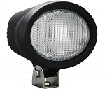 4 Inch x 6 Inch Oval Black 100W Tungsten Flood Beam Lamp