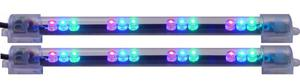 Twin Pack LED Bars 6 Inch Multi Color