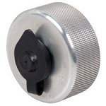 Billet Aluminum Vent Cap with Secondary Flip-Up Cap