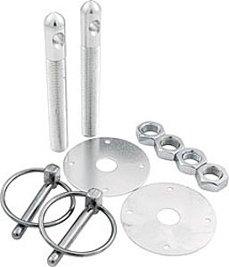ALL18500 Aluminum Hood Pin Kit 1/2 Inch