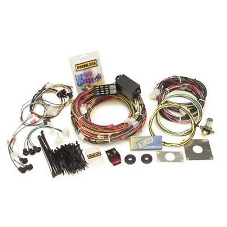 painless performance products 20120 1965 66 mustang 22 circuit ford car chassis harnesses