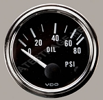 Oil Pressure Gauge 80 psi