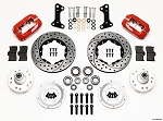 1967-72 Camaro/Nova Drilled Dynalite Pro Series Front Brake Kits