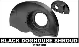 Black Doghouse Shroud