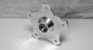 Combo Spindle to 5-Lug Adapter Billet