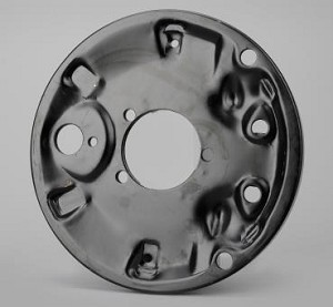 1966-77 VW Front Drum Brake Metal Backing Plate LH or RH
