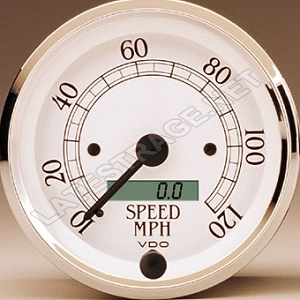 120 MPH Speedometer Gauge 3-3/8 Diameter