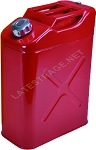 5-Gallon Galvanized Steel Jerry Can