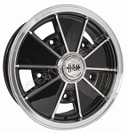 BRM Wheels Black Matte Finish Rim Lip