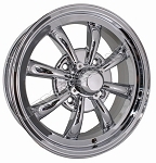 8-Spoke Wheels 4/130 5.5 Inch Chrome