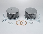1950-1979 VW Chrome Housing Air Cleaner Kit
