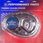 1969-91 SBC Chrome Officially Licensed GM Timing Chain Covers