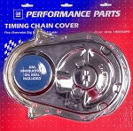 1965-90 BBC Chrome Officially Licensed GM Timing Chain Covers