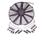 16-Inch Universal Electric Fan with GM Bowtie Logo