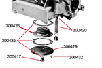 Oil Piston and Spring High Performance 1600cc 1970-Up