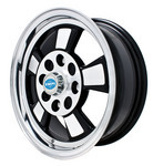 Riviera Style Gloss Black Wheel 15x5.5 Inch and 4/130 Pattern